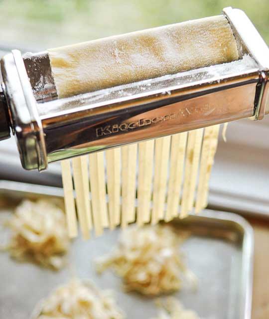 Cómo hacer pasta fresca desde cero - paso 1