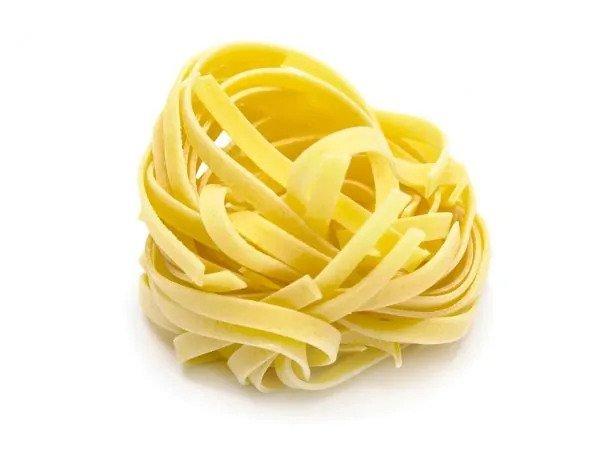 Tipos de pasta: TAGLIATELLE