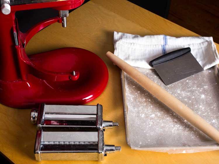 Las mejores herramientas para hacer pasta