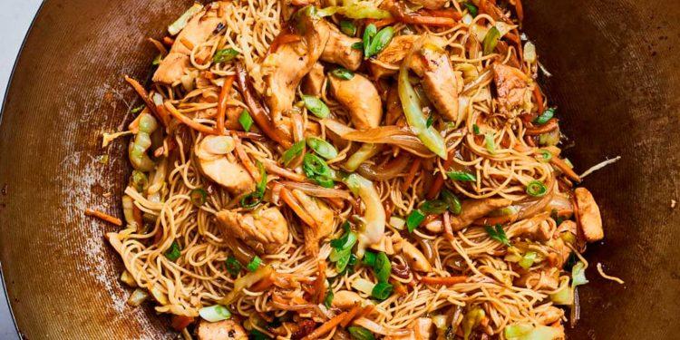 Receta fácil de Chow Mein