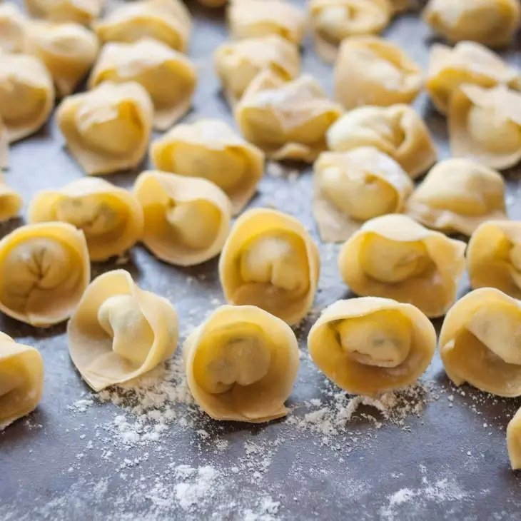 Tortellini casero - paso 1